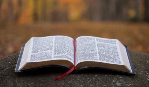 Bibelstunde in Uschertsgrün